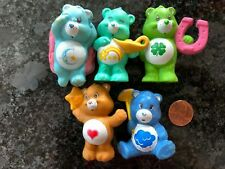 Vintage American Greetings Care Bear PVC Lot Good Luck Wish 1984 MORE!