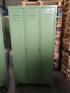 Spind Blechspind Umkleidespind Industrie Loft Design Vintage