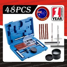 48pcs Tyre Repair Kit Tire Puncture Emergency Tools Set Motorcycle Bike Tubeless