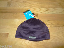 New Columbia Womens Curled Up N Cozy Plush Fleece Hat Beanie Small Purple $30