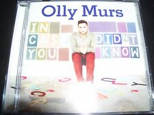Olly Murs In case You Didn't Know (Australia) CD – Like New