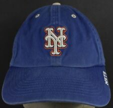 Blue NY New York Mets Team Logo Embroidered Baseball Hat Cap Adjustable Strap