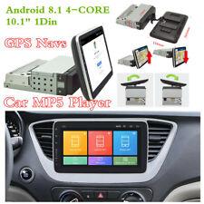 """10.1"""" 1Din unidad de cabeza puede girar Pantalla táctil automóvil Reproductor MP5 Navs GPS Radio Estéreo"""