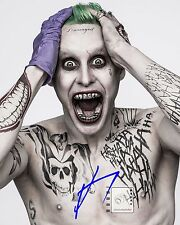 "Jared Leto, Academy Award Actor Signed 8""x 10"" Color Great Suicide PHOTO REPRINT"