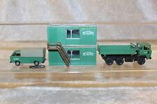 Loco 5025*Roco*1:87*H0*Konvolut Baufahrzeuge und BAU Container*Schwarzbau*selten