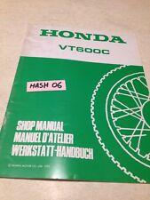 supplément manuel atelier Honda VT600C VT600 C VT 600 Shop manual éd. 95