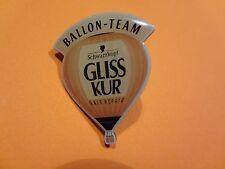 Pin, Ballonpin, Ballon, Balloon, Ballon Team Gliss Kur, Werbepin, 31x26mm