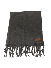 Tommy Hilfiger Unisex Gray Holiday Muffler Scarf, One Size