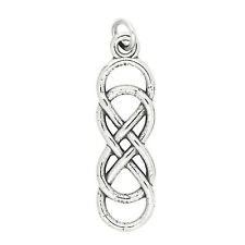 Sterling Silver Celtic Knot Infinity Charm