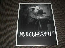 Mark Chesnutt Country Headshot 8.5x11 B&W Publicity Photo