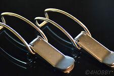 2x Box-Verschluss Edelstahl Spannverschluss - Kistenverschluss, Hebelverschluss