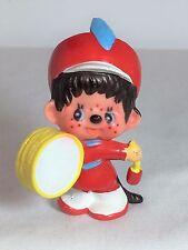 Monchhichi PVC Mini Loose Figure - BAND DRUMMER - Vintage Monchichi Sekiguchi