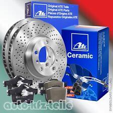 ATE Bremsen GELOCHT + Ceramic Beläge+ WK Mercedes C-Klasse W204 Ø295mm VORN