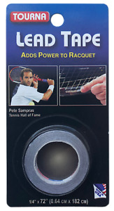 Tourna Lead Tape - Tennis Racket Balancers 182cm - Add Weight For More Power