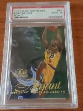 1996-97 Flair Showcase Row 2 #31 Kobe Bryant  RC Rookie Lakers PSA 9 Mint