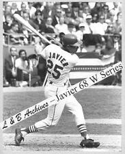 JULIAN JAVIER Cardinals 1968 World Series Game Photo