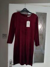 Oasis Velvet Dress Size Small