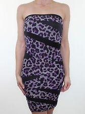 Bandeau Animal Print Stretch, Bodycon Dresses for Women