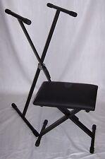 Coppia:Supporto Stand/Panca Sgabello per Piano e Tastiera