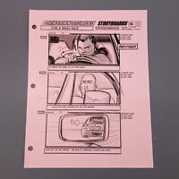 FAST AND FURIOUS 4, Production Used Storyboard, Dom & Brian Race, Dom sees Brian