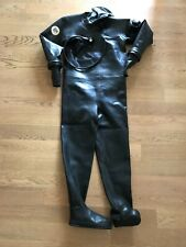 DUI rubber dry suit - muta stagna in gomma