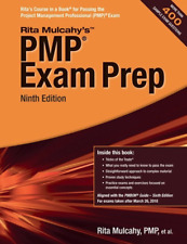 PMP Exam Prep Ninth (9Th) Edition by Rita Mulcahy - 2019 🔥 |Delivery by Message