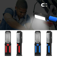 LED Magnetic Work Light Car Inspection Garage Mechanic Rechargeable Torch Lamp