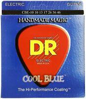 DR Strings Cool Blue * Coated * Electric Guitar Strings Medium 10 - 46 CBE-10-46