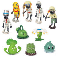 Plants Vs. Zombies 10 PCS Game Action Figure Cake Topper Kids Gift Doll Toys US