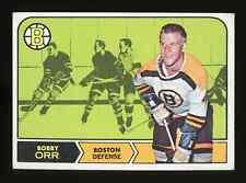 1968 Topps BOBBY ORR Card #2 HOF BRUINS (Low Grade - creased)