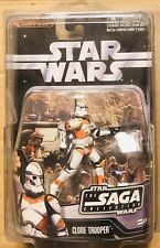 Star Wars Clone Trooper # 026 Saga Collection Figure (2006) W/ Protector Case
