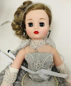 "Coco Cissy Silver Lace Millennium Spectacular 16"" 17"" Doll 2000 Madame Alexander"