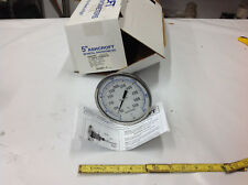"""5"""" Ashcroft 50EL60E060 50/550F 10/290C Bi-Metal Thermometer 1/2"""" NPT 6"""" Stem NEW"""