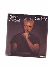 "disque 45 tours david Christie - "" saddle up "" - "" the signals ""  carrere"