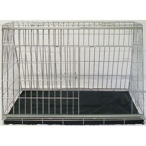 """32"""" Sloping Dog pet puppy travel Training cage crate transporter guard kennel"""