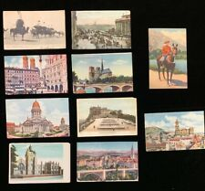 Vintage Postcards - (10) from around the World