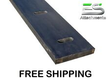 "14' 1-1/2 X 8"" Rubber Edge, Snow Pusher Rubber, Snow Plow Rubber, Protech"