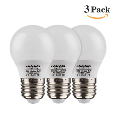 ChiChinLighting 12 Volt 7 Watt LED Light Bulb 3 Bulbs Per Pack - E26/E27 Light -