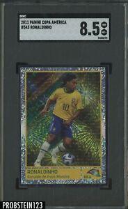 2011 Panini Copa America #343 Ronaldinho SGC 8.5 NM-MT+