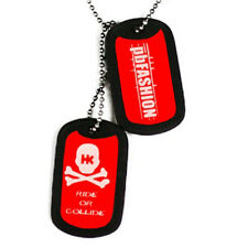 Hk Army Dog Tags - Red