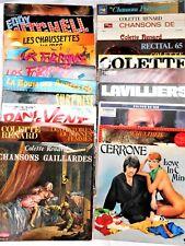 lot(3) 20 albums 33T- E.Mitchell, Les Forbans,B. Lavilliers, C. Renard, Cerrone.