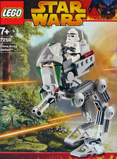 LEGO STAR WARS 'CLONE SCOUT WALKER' #7250 RECON TROOPER 100% COMPLETE GUARANTEE