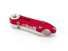 Cinelli Sesamo Stem 100mm 26.0 RED & SILVER Vintage threadless bike Track NOS