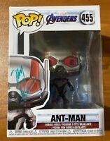 Michael Pena Signed Marvel Avengers Ant-Man 455 Funko Pop - JSA NN81850