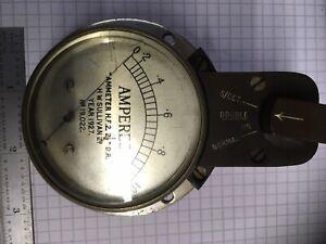 Vintage 0-1A Meter. Dated 1927