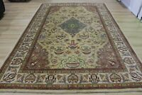 Large Persian Handmade Knotted Wool Rug Carpet,Oriental Floor Room Decor Area