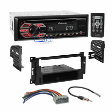 Pioneer CD MP3 WMA Car Stereo Dash Kit Harness for 2004-up Chrysler Dodge Jeep