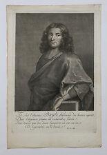 François CHEREAU (1680-1729) portrait de Pierre BAYLE (1647-1706) philosophie