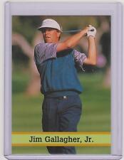 RARE 1993 UNITED KINGDOM FAX PAX JIM GALLAGHER JR. GOLF CARD #28 ~ MULTIPLES