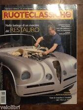 RUOTECLASSICHE n. 189 Settembre 2004 - Maserati A6 GCS, Fiat 124, Fiat 1500
